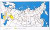 Карта районирования территории РФ по пляске проводов